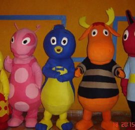 Contratar show de Backyardigans al (011)4740 4843 Onnix Entertainment Group